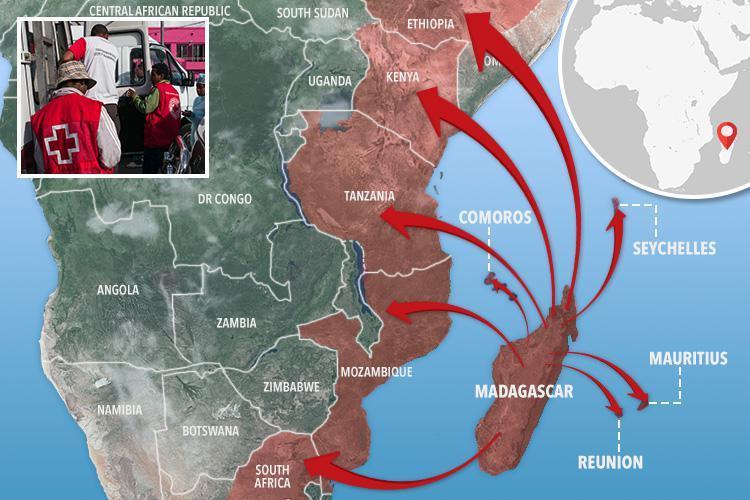 Эпидемия чумы на мадагаскаре. Вспышка чумы уже убила на Мадагаскаре свыше 120 человек