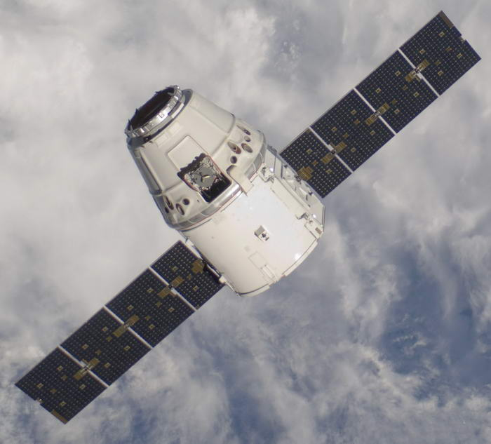 3. SpaceX Dragon.