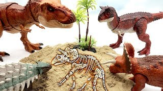 Who is the dinosaur bone? Jurassic World2 Fallen Kingdom Toys for Kids! Dinosaur fossil Science Kit
